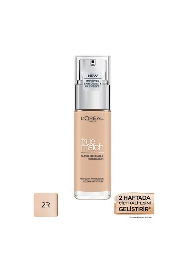 L'Oréal Paris L'Oréal Paris True Match Bakım Yapan Fondöten 2R ROSE VANILLA Ten